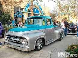 Vintage Ford Truck Images - 1956 ford f100 1956 ford f100 pu for sale celebrity inspired