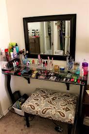 glass top vanity table vanities designs marvelous diy makeup vanity brilliant setup for