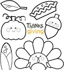 free thanksgiving coloring pages for preschoolers or free