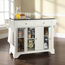 linon kitchen island kitchen islands kitchen island white top cherry wood cart linon