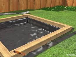 Backyard Sandbox Ideas Build A Sandbox Sandbox Backyard And Yards