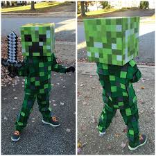 minecraft costume minecraft costumes best 20 creeper costume ideas on