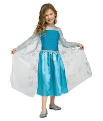 Elsa Halloween Costume Girls Elsa Snow Queen Gown Girls Classic Disney U0027s Frozen Costume