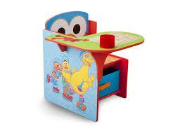 desk chair with storage bin sesame street chair desk with storage bin delta children