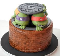 ninja turtles cake fondant future job pinterest cake
