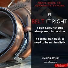rules for men u0027below the belt u0027 guide to corporate dressing i u0027m