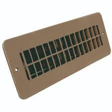 Floorregisters N Vents by Jr Products 288 86 Ab Tn A Tan Dampered Floor Register Camper