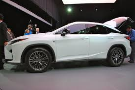 lexus models 2015 the 2016 lexus rx tries to have fun by copying its little brother
