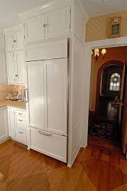 Built In Refrigerator Cabinets 2006 Kitchen Remodel Rb Schwarz Inc