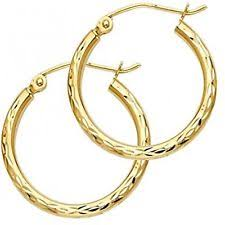 14k gold hoop earrings 14k gold hoop earrings ebay
