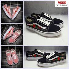 amac custom cheap 2017 new vans x amac customs embroided skateboard shoes