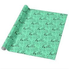 hello wrapping paper hello wrapping paper zazzle