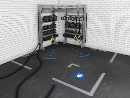 Dynamic Sports Flooring by Introducing The Functional Training Ecosystem Aktiv
