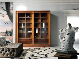Bookcases With Glass Bookcase Antique Library Bookcases With Glass Doors Astounding