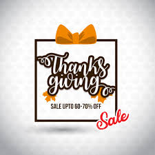 happy thanksgiving day sale save upto 70 new creative