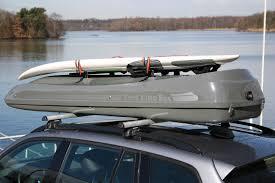 porta surf auto box portabagagli malibu xl con barre porta surf sul coperchio