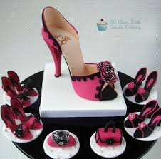 shoe cake topper hot pink shoe cake topper cakecentral