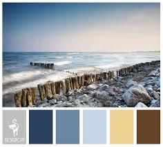 shingle beach brown sand cream grey slate blue pastel
