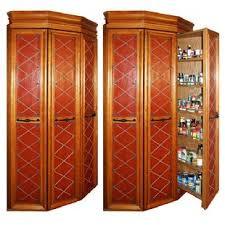 Kitchen Cabinets Corner Pantry Pantry Cabinet Pantry Corner Cabinet With Walkin Corner Pantry