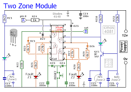 how to build an expandable multi zone modular burglar alarm