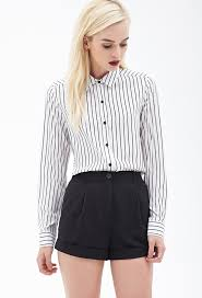 forever 21 white blouse forever 21 sheer striped blouse where to buy how to wear