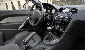 peugeot coupe rcz interior peugeot 308 rcz picture 33485