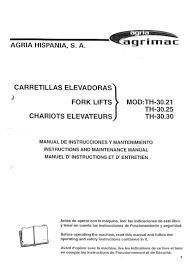 manual usuario agria th 30 21 th 30 25 th 30 30