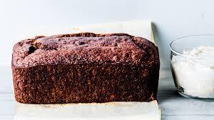 brown cake buckwheat banana cake with yogurt espresso frosting recipe bon