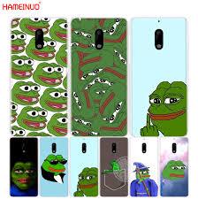 Nokia Phone Meme - hameinuo internet meme smug frog pepe cover phone case for nokia 9 8
