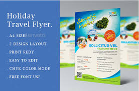 10 gorgeous travel agency flyer templates to grow your travel