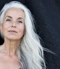 Frisuren Lange Wei゚e Haare by Bilder Zu Eveline A Top German Model At The Age Of 67