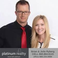 brian u0026 julie ryberg realtor warrensburg missouri spouses selling