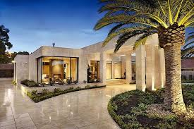 single level home designs luxury single level house in australia adorable home
