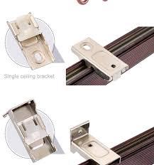 Plastic Curtain Tracks Plastic Curtain Track Extension Brackets Scifihits Com