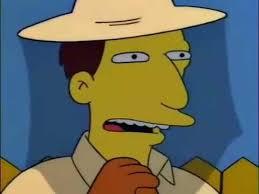 Simpsons Meme Generator - usted es diabolico simpsons meme generator