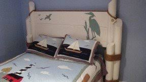 nautical headboards nautical bedroom furniture foter