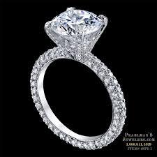 luxury engagement rings images Luxury engagement ring michael b jewelry luxury pave engagement jpg