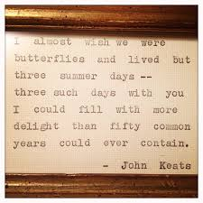 wedding quotes keats keats quote to be displayed at my wedding poetry