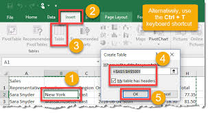 how to set up a pivot table how to create a pivot table how to excel