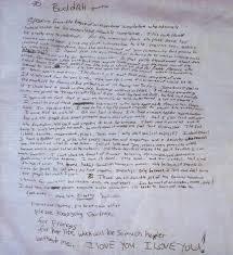 Sad Love Letters To Him Kurt Cobain U2013 Kurt Cobain U0027s Note Genius