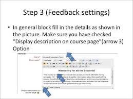 how to create feedback form in moodle for course evaluation youtube