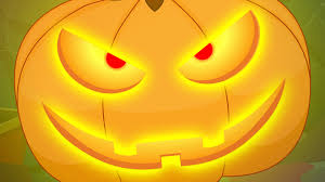 there is scary pumpkin scary nursery rhymes kids songs