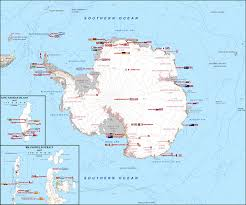 map of antarctic stations research stations in antarctica