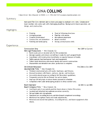 Production Resume Examples by Media Production Resume Sample Free Samples Examples U0026 Format