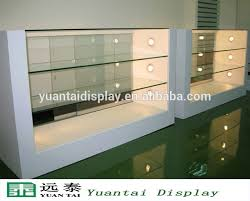 cabinet shop for sale fashion custom made wood glass mobile phone shop display counter on