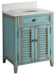 abbeville bathroom sink vanity distressed blue 26 farmhouse