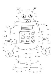 dot to dots worksheets for kindergarten activity shelter kids