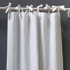 Tie Top Curtains Pom Pom At Home Curtains Pom Pom At Home Tie Top Curtains In