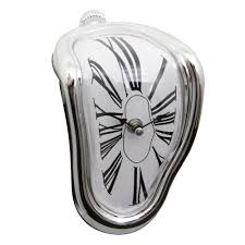 boutique melting clock art wall clock in wall clocks from home