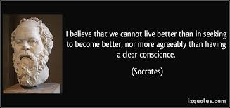 Seeking Live I Believe That We Cannot Live Better Than In Seeking To Become